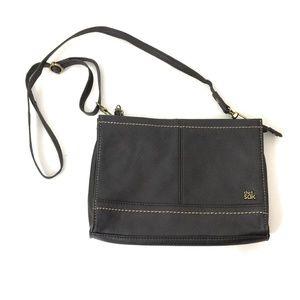 The Sak Iris Dark Brown Leather Crossbody Bag